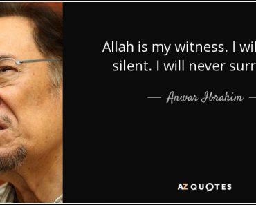 Susahnya Jadi Batang Tubuh Bernama Anwar Ibrahim