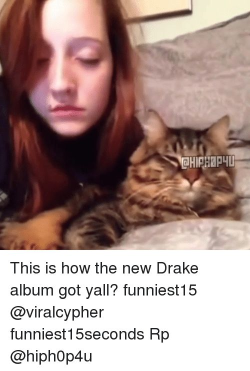this is how the new drake album got yall funniest15