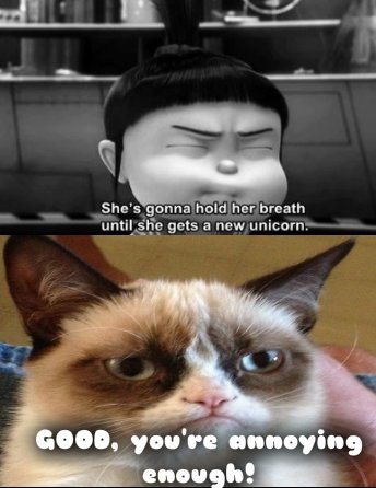 Catch the Inspirational Kid Memes Funny Grumpy Cat