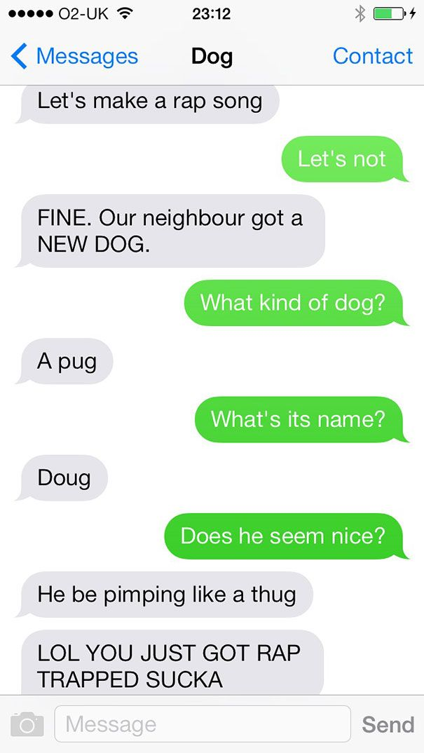 texts from dog 1