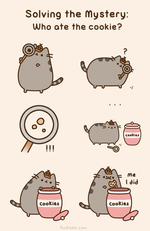 Pusheen the Cat Pusheen Stuff Pusheen Cat Grumpy Cat Nyan Cat Funny