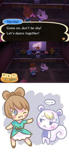 there s nothing worse than embarrassing yourself at the club T T… Animal Crossing Villagers Animal