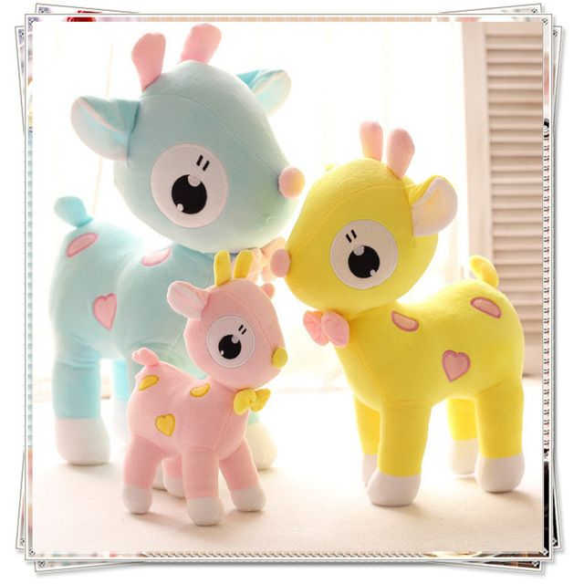 Giraffe dolls baby toys unicorn kawaii plush sylvanian families ty plush animals anime soft toys giraffe
