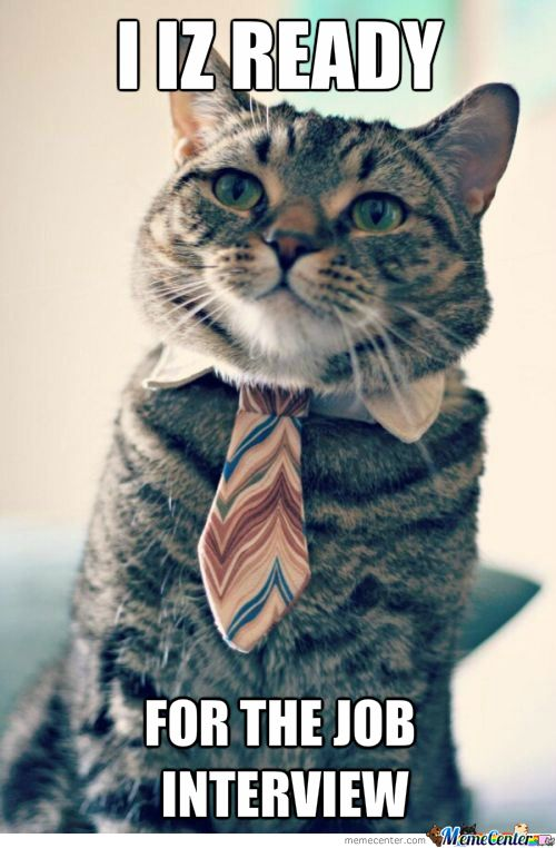 With My Cuteness I Will Get The Job