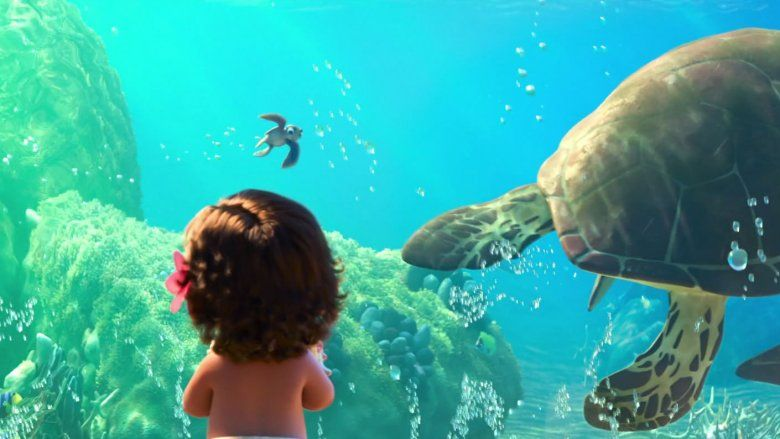Moana easter eggs