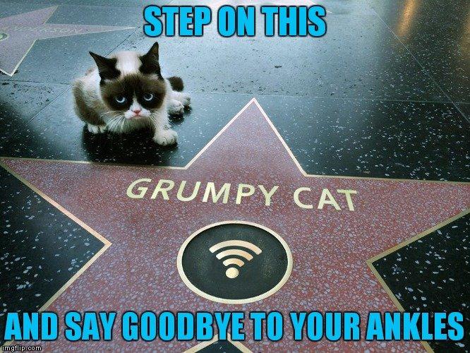 Walk this way Limp away