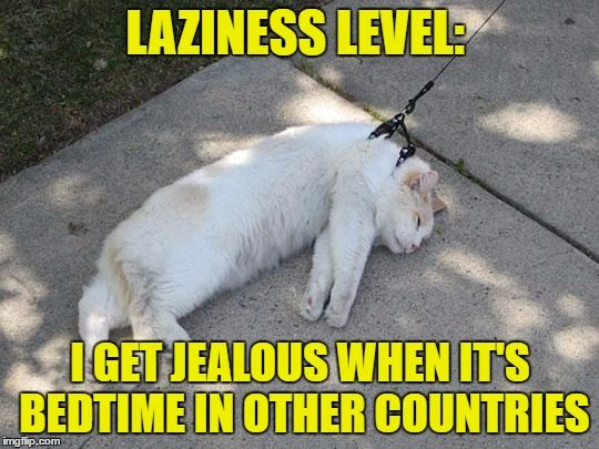 lazy and jealous