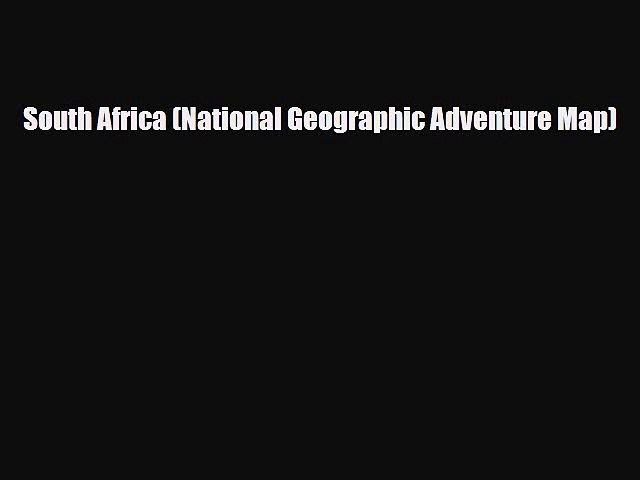 Download South Africa National Geographic Adventure Map Read line Video Dailymotion