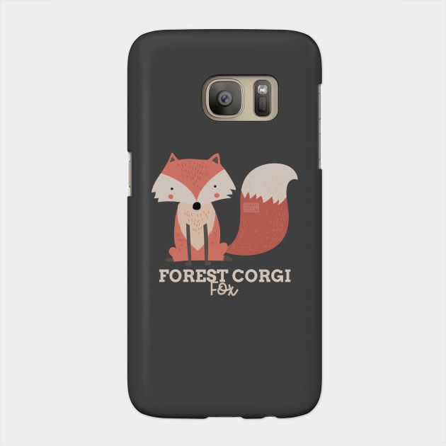 Funny Animal Name Meme Forest Corgi FOX Funny Animal Meme Phone Case