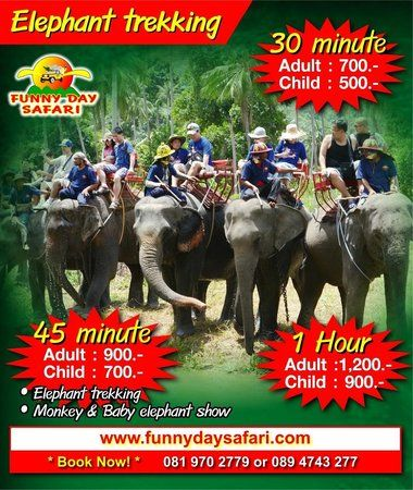 Funny Day Safari Bophut 2018 All You Need to Know BEFORE You Go with s TripAdvisor