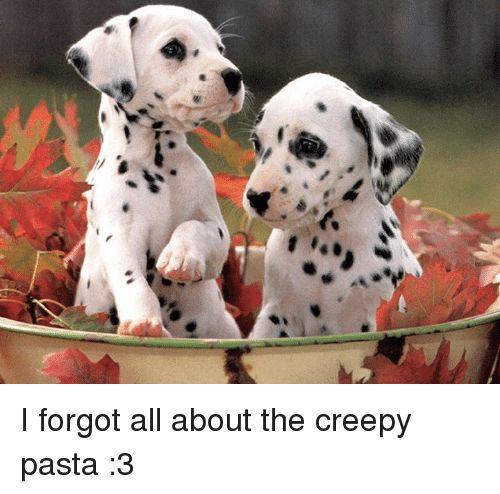 Creepy Dank Memes and Creepy Pasta ー75 癆 I forgot all about