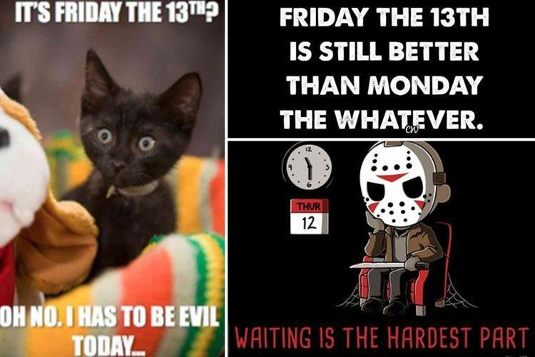 Friday 13th facts and memes the funniest ways to mark the unluckiest date of the year