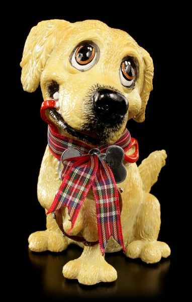 Dog Figurine Golden Retriever Barney Little Paws
