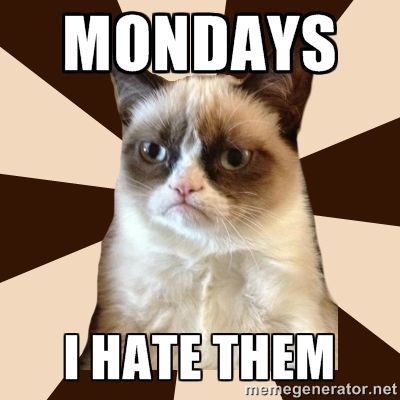 Mondays I Hate Them