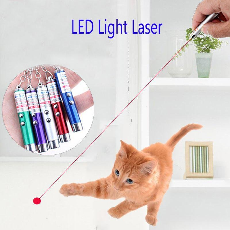 hot LED Light Electron Laser Pointer Funny Cat Toy Toy Pet Toys Interactive Toys Cat Products