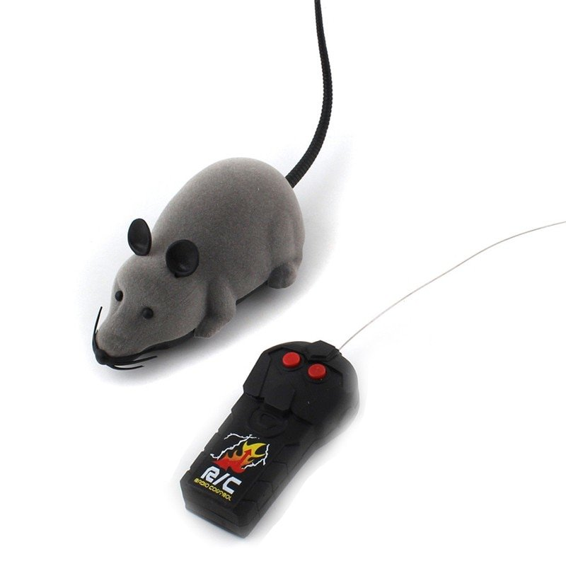 Funny Electronic Mouse Toy with Remote Control Cute electronic mouse toy With 2 modes go forward backward With realistic appearance good for playing