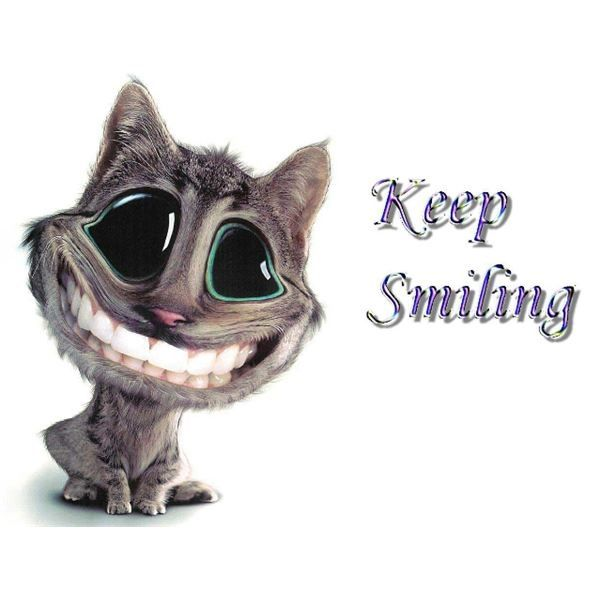Smiling Cat Wallpaper