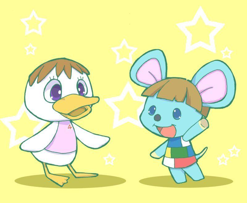 Pompom and Broccolo Animal Crossing Fan Art New Leaf Qr Codes Poppy