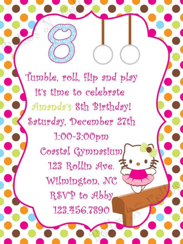 Family Kitty Party Invitation