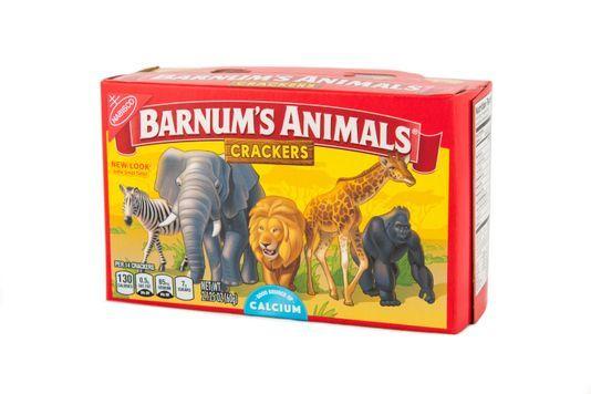 Food Animal Cracker Box 001