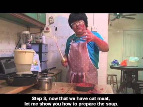 Cooking with chao How to cook cat soup