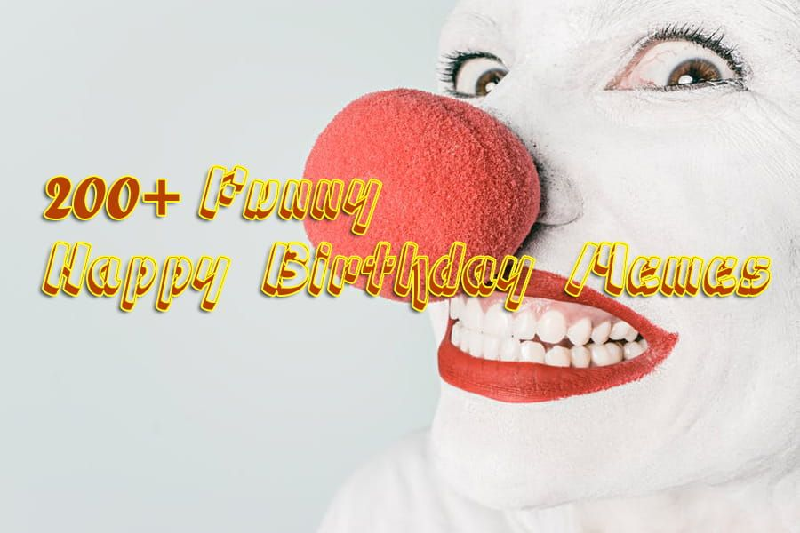 200 Funny Happy Birthday Memes