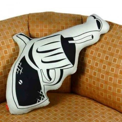 Who wouldn t want this gun pillow