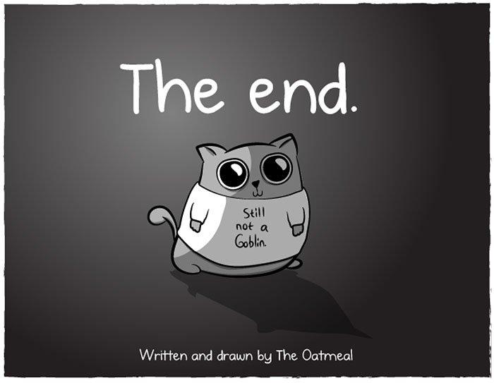 baby vs cat oatmeal ics 9