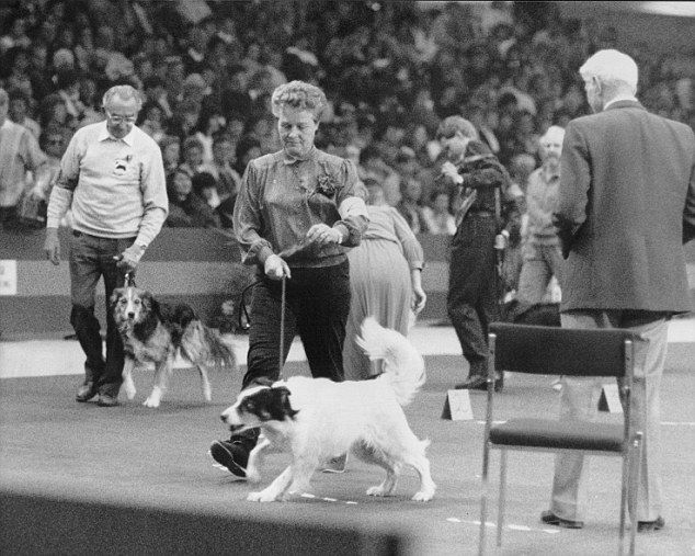 Bishop s mother Sylvia Bishop was a dog show petitor who appeared at Crufts in 1990