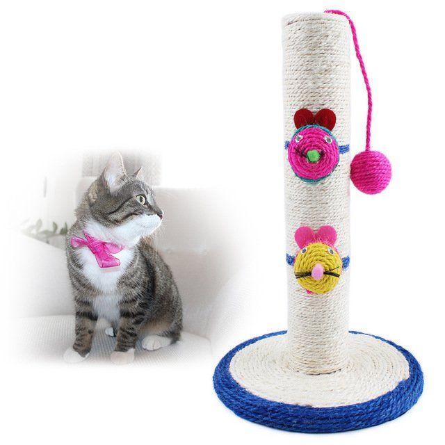 HOT Cat Climbing Scratch Board Funny Cat Toys Big Cat Tree 41 24