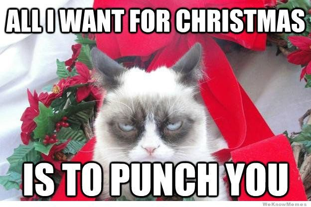 Find the Stunning Funny Christmas Memes Grumy Cat