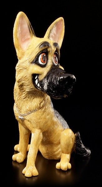 Dog Figurine German Shepherd Sa Pets with Personality