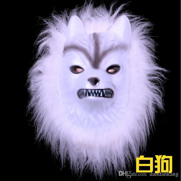 Halloween animal masks party mask funny kids Hallowmas Makeup Animals mask Animal Wolf tiger dog monkey