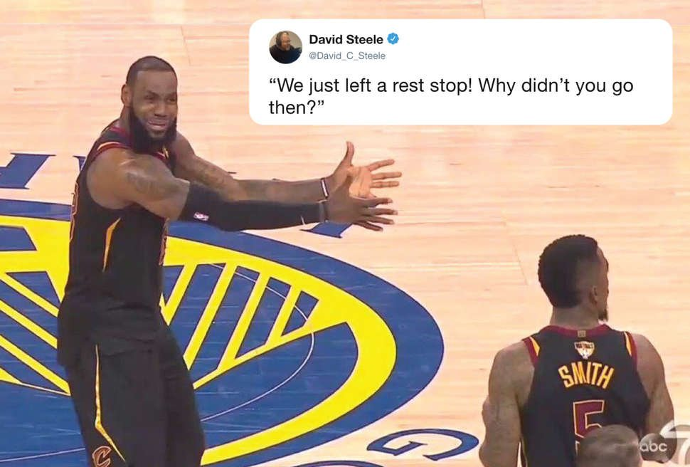 lebron james game 1 reaction