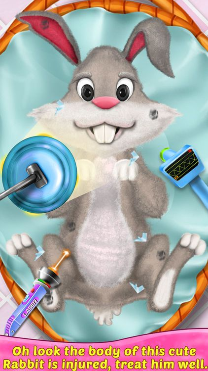 Animal Surgery Simulator Funny Vet Doctor Game By Happy Baby Games