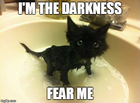 I M THE DARKNESS FEAR ME