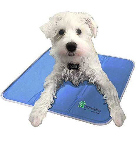The Green Pet Shop Dog Cooling Mat Patented Pressure Activated Cool Gel Pad for