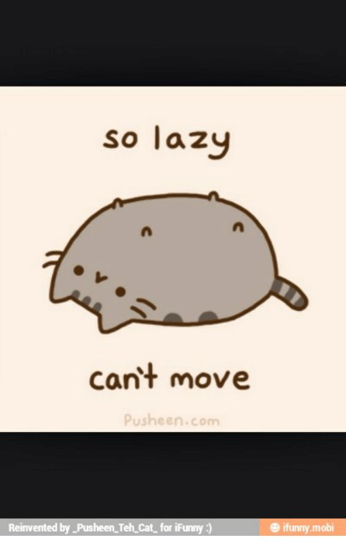 Pusheen Moby and Mobi so lazy cant move Pusheen Reinvented by