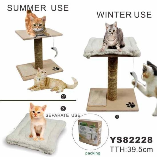 Funny Cheap Sisal Cat Tree Pet Products YS