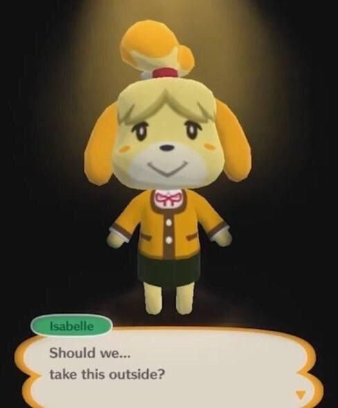 Isabelle in smash