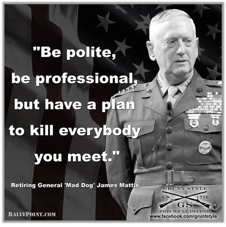 Gather the Fresh Funny Mad Dog Mattis Memes