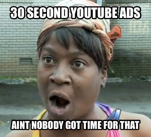Youtube meme funny aint nobody got time for that