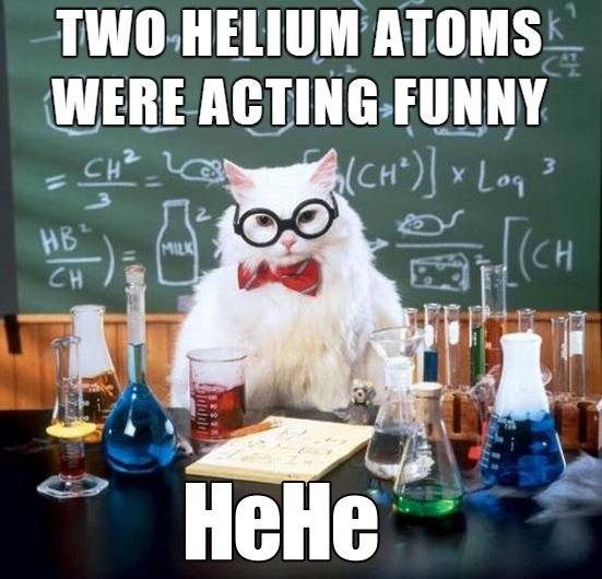 Science Cat Meme