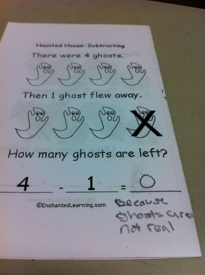 25 Funny Test Answers From Funny Kids This kid s it