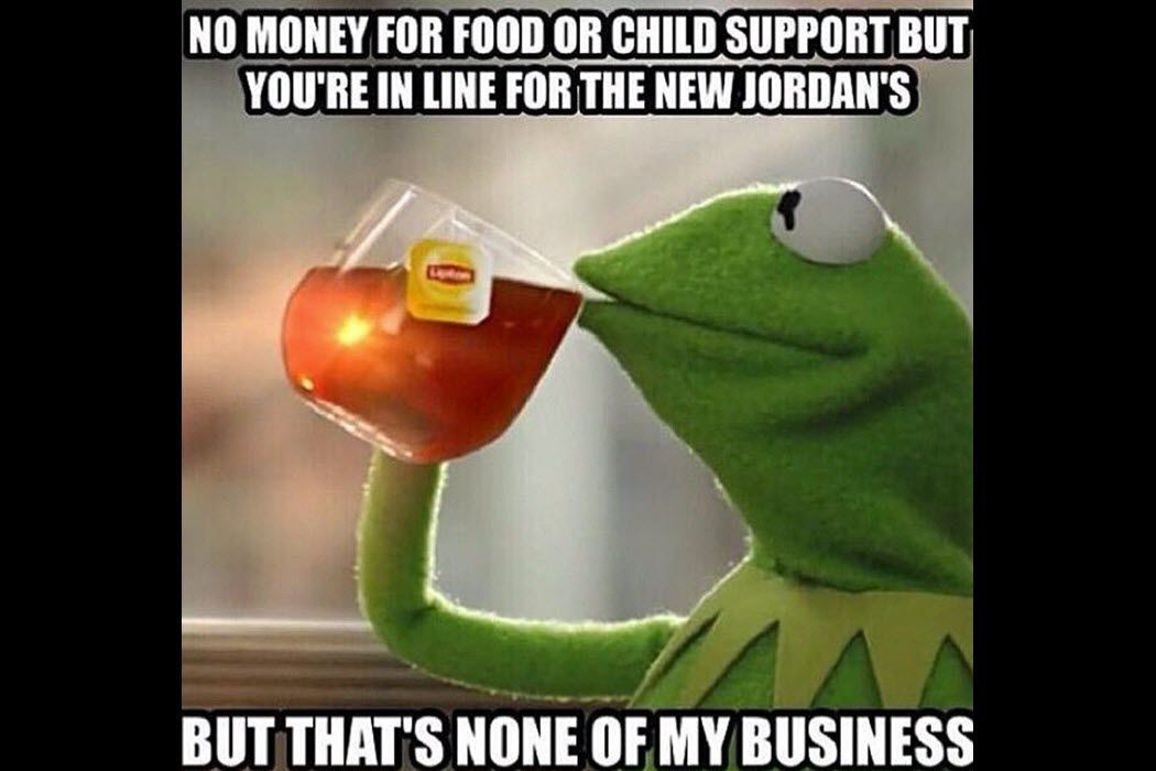 """Kermit the Frog """"But that s none of my business"""" meme depicting passive aggressive ments"""