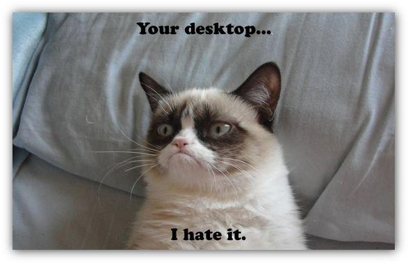 Funny animals Grumpy Cat Tard