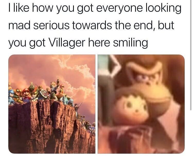 thas me ive seen things yk honestly villager doesnt care if anyone else s