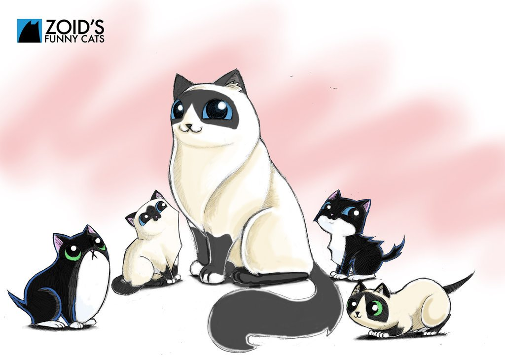 Mother s Day Zoids Funny cats by KingZoidLord