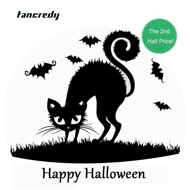 Halloween Decoration Stickers 3D funny Car Styling 13 12cm Fashion car whole body decor
