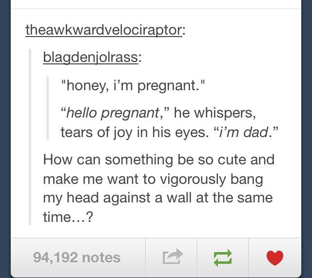 """Nonono it should be """"I m grandad"""" No because if you look at the words she said honey which is generally not a term used to refer to your father"""